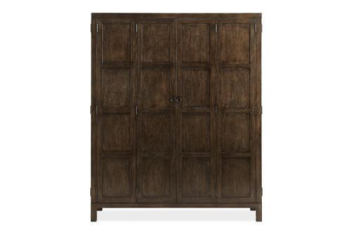 yumiko armoire cabinets armoires living spaces. Black Bedroom Furniture Sets. Home Design Ideas
