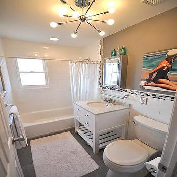 beach house bathroom design. Restoration Hardware Vanity Beach House Bathroom Design