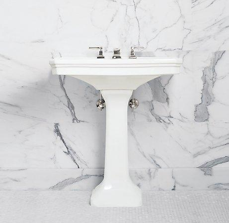 Park Pedestal Sink Single Vanities Amp Washstands