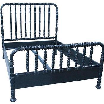 Noir Black Bed