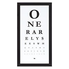 Eye Chart is Modern Art with a Hidden Message, Z Gallerie