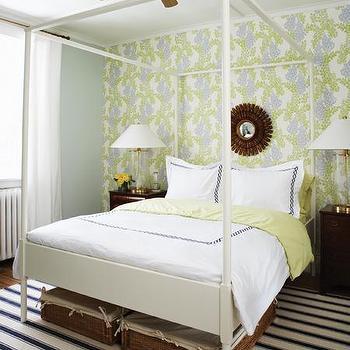 Ikea Edland, Contemporary, bedroom, Farrow & Ball Pale Powder, House & Home