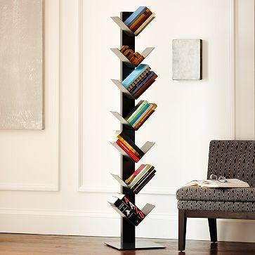 Herringbone Spine Bookcase West Elm