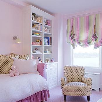 Pink Daybed, Transitional, girl's room, Jennifer Flanders Interior Design