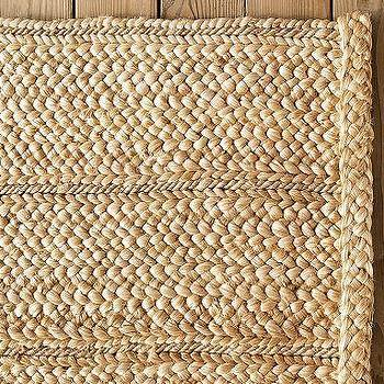 Flat-Braided Jute Rug, Pottery Barn