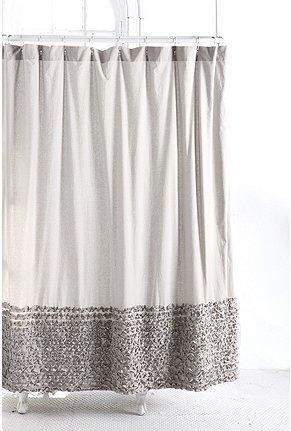 UrbanOutfitters Gt Bloomer Ruffle Shower Curtain