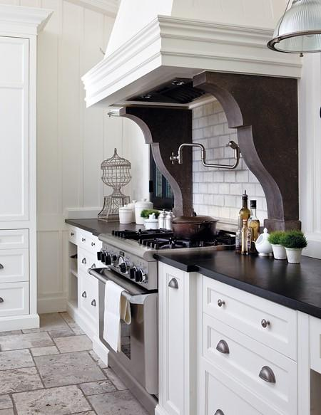 White Kitchen Hood kitchen hood corbels design ideas