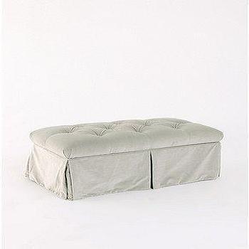 UrbanOutfitters.com > Tufted Storage Bench Velvet