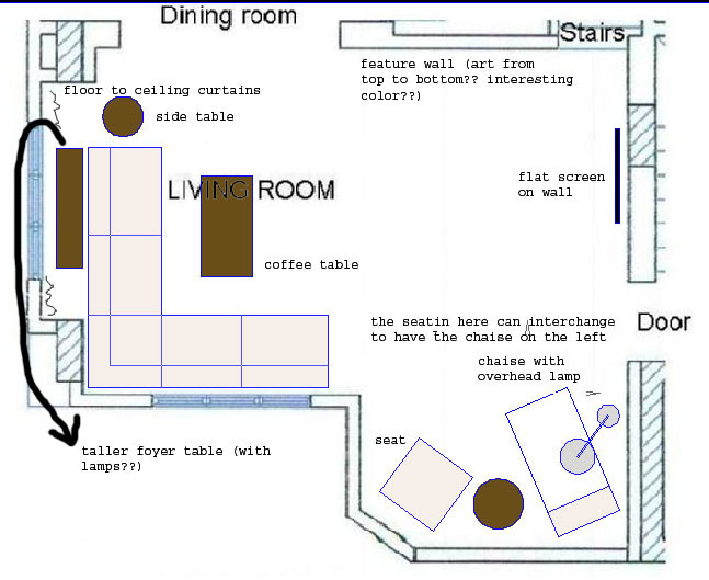 View post how do you arrange furniture in l shaped living room help please Living room layout ideas for l shaped rooms