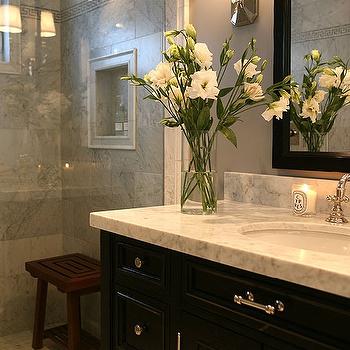 Shower Stool, Contemporary, bathroom, Jeff Lewis Design