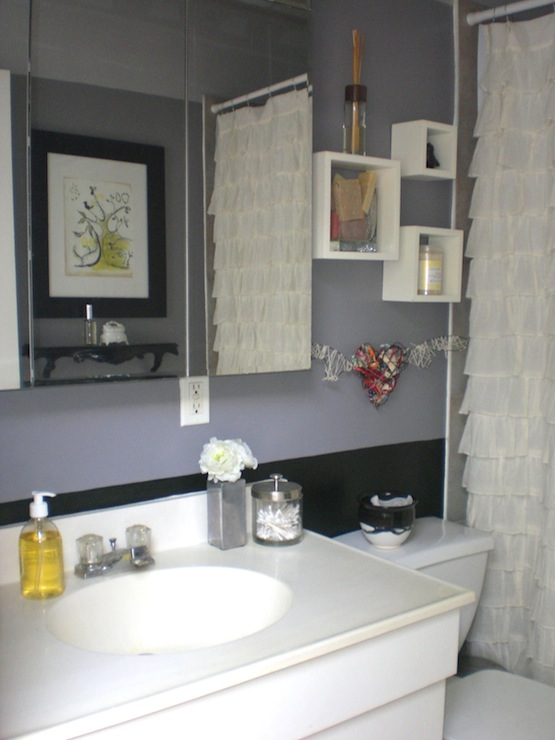Bathroom for Grey and white bathroom decor