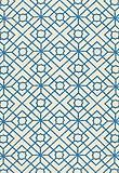 Fabric, Luan Fretwork in Porcelain Blue, Schumacher