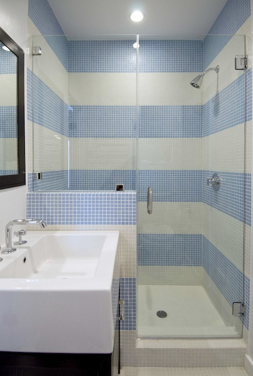 Hakatai Mosaic Tiles Contemporary Bathroom Amie