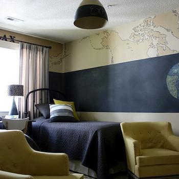 Ikea Window Treatments, Transitional, boy's room, Sherwin Williams Macadamia, Isabella and Max Rooms