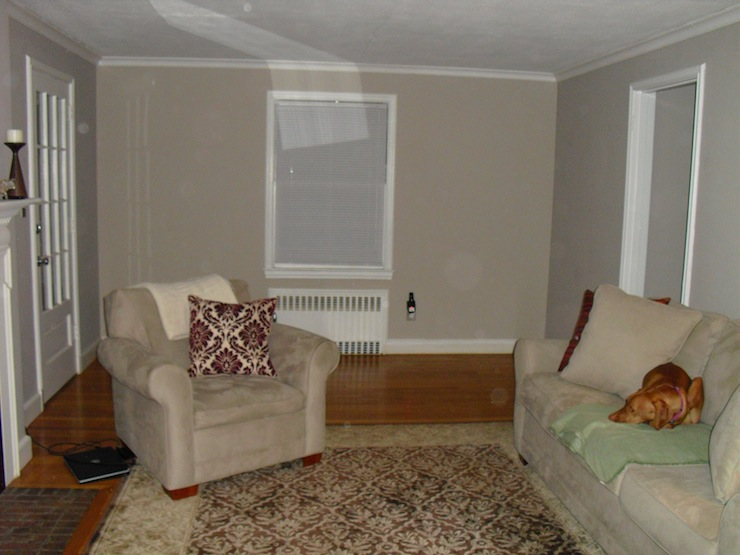 Living Room Sherwin Williams Versatile Gray