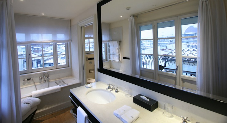 Grey Framed Bathroom Mirrors gray framed mirror design ideas
