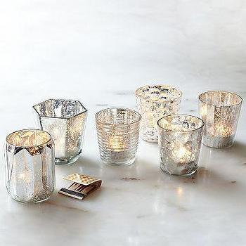 Punched metal votive candle holder - Punched metal candle holder ...