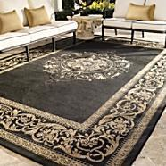 Patterned outdoor rugs stylish all weather outdoor area for All weather patio rugs