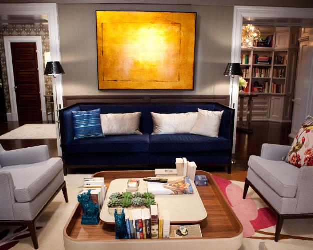 Brilliant Blue Velvet Sofa Contemporary Living Room Marks Frantz Pabps2019 Chair Design Images Pabps2019Com