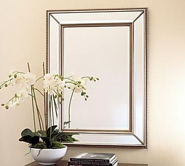 Venetian Beaded Mirror Look 4 Less