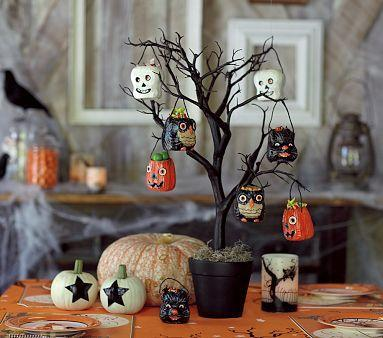 pottery barn halloween decor pottery barn halloween decor tree kids - Pottery Barn Halloween Decor