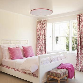 Half Moon Nightstand, Transitional, girl's room, Elizabeth Dinkel Design