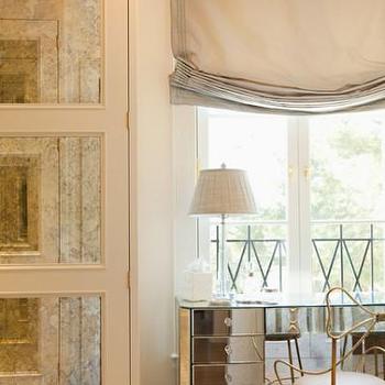Mirrored Vanity, Transitional, bedroom, Elizabeth Dinkel Design