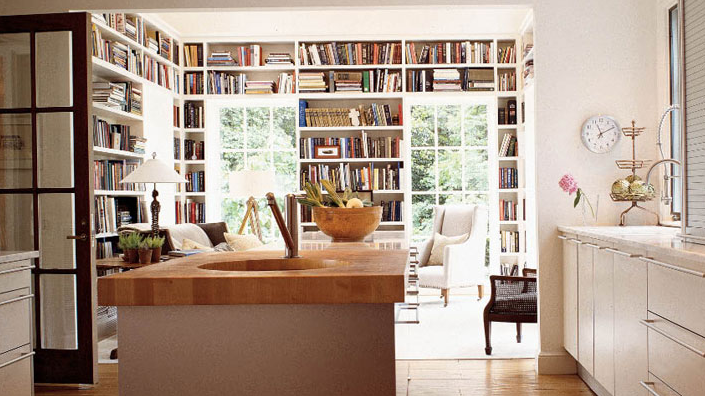Built In Bookcases Design Ideas