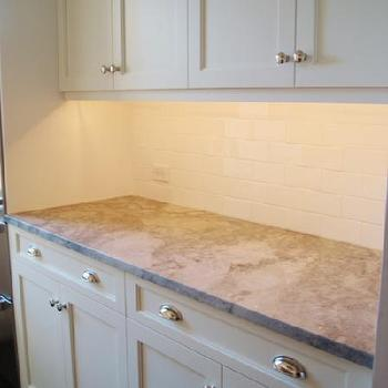 Moon Night Granite, Transitional, kitchen, Benjamin Moore Decorator's White