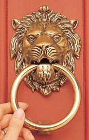Ebay Lionu0027s Head Solid Brass Door Knocker view full size & Lion Door Knocker Look 4 Less!