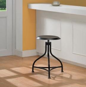 Overstock Metal Adjustable Stool View Full Size