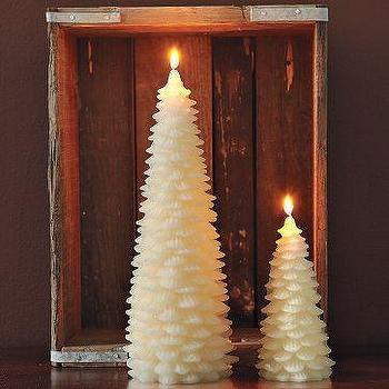 Tree Candle, west elm
