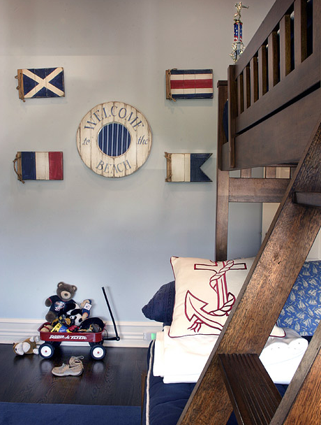 Nautical Themed Bedroom Decor: Nautical Themed Boy's Room