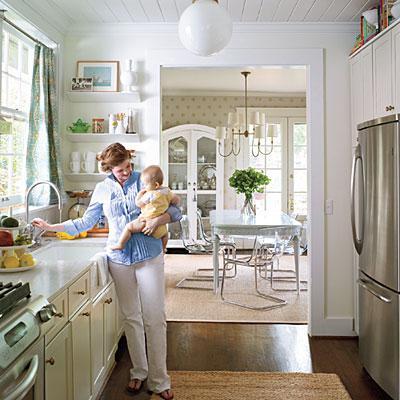Kitchen Benjamin Moore White Dove