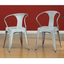 Silver Tabouret Stacking Chairs. Look 4 Less:  Http://www.decorpad.com/look4less.htm?blogEntryIdu003d492