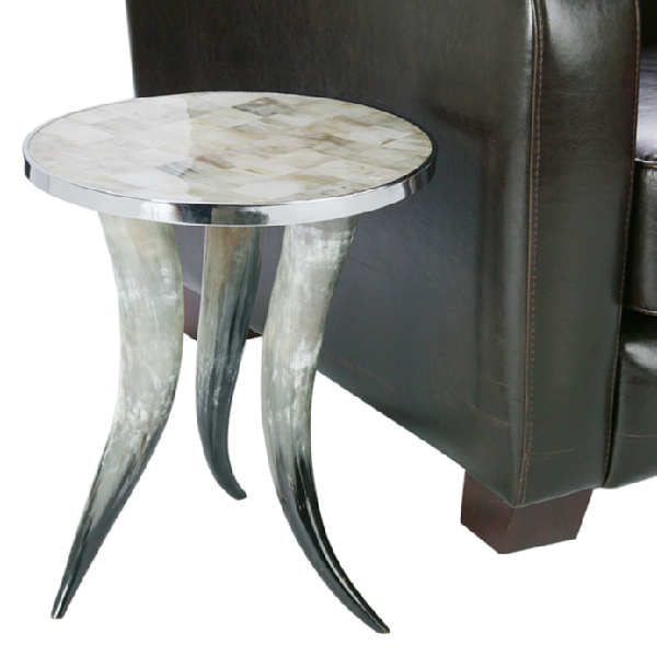 Z Gallerie Cheyenne Horn Table : ee840dcf5e9b from decorpad.com size 600 x 599 png 317kB