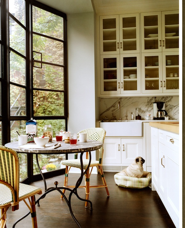 Steel and glass windows contemporary kitchen nate Nate berkus kitchen design