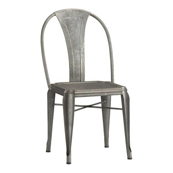 Scalloped Back Ghost Side Chair