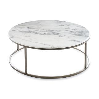DWR Rubik Round Coffee Table, Marble View Full Size