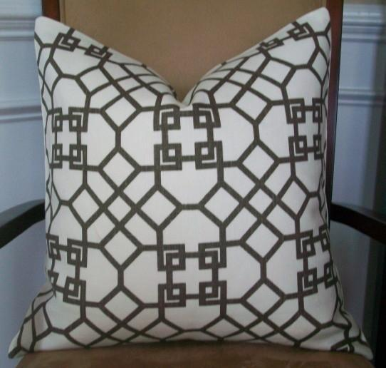 New Decorative Designer Pillow Cover 20x20 By Elegantouch