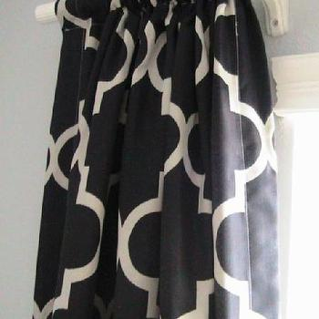 Two Pairs of Decorative Designer Rod Top Drapery by nenavon