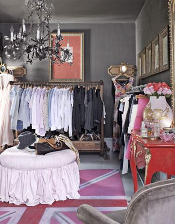 Amherts Gray Eclectic Closet Benjamin Moore Amherst