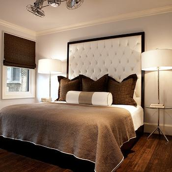 Big Headboard, Contemporary, bedroom, Nest Interior Design