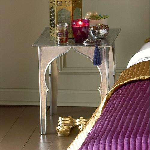 Moroccan side table look 4 less and steals and deals - Table de chevet orientale ...