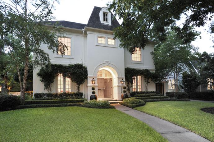 French Home Exterior French Home Exterior Cote De Texas