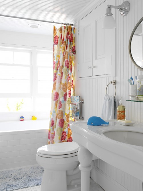 White Beadboard Bathroom Cottage Bathroom Tara Seawright