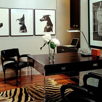 Lucite Desk, Contemporary, den/library/office, Blair Gordon Design