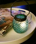 Hobnail Lanterns Modern Chic Home