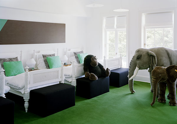 Kids Bedroom Green black and green kids room design ideas