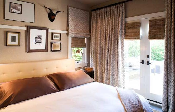 Bedroom Wallpaper Beige